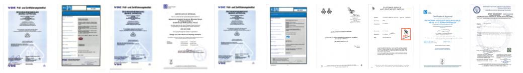 Certyfikaty WUG MB